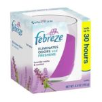 Febreze - Lavender Vanilla And Comfort Candles To Eliminate Odors And Freshens Candle 0037000171508  / UPC 037000171508