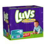 Luvs - Diapers With Ultra Leakguards Economy Plus Pack Size 2 12 To 18 lb 0037000178354  / UPC 037000178354