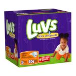 Luvs - Diapers With Ultra Leakguards Economy Plus Pack Size 3 16 To 28 lb 0037000178385  / UPC 037000178385