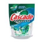 Cascade - Complete All-in-1 Actionpacs Fresh Scent 0037000190028  / UPC 037000190028
