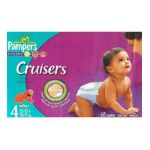 Pampers - Cruisers size 4 68 Diapers 37 lb, 68 diapers 0037000198413  / UPC 037000198413