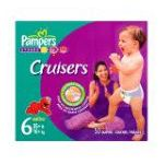 Pampers - Cruisers Diapers Size 3 50 diapers 0037000198437  / UPC 037000198437