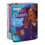 Pampers - Cruisers Diapers Jumbo Pack Size 5 26 diapers 0037000201564  / UPC 037000201564