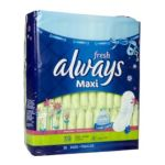 Always - Maxi Pads Long Super Without Wings Scented 0037000223238  / UPC 037000223238