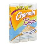 Charmin - Charmin | Charmin - Basic Bathroom Tissue, Big Roll - 12 Rolls 0037000234593  / UPC 037000234593