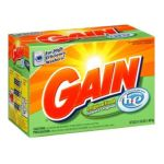 Gain - Powder For High Efficiency Machines Laundry Detergent Original Fresh Scent 0037000237099  / UPC 037000237099