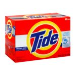 Tide - Tide He Detergent Original Scent Powder 1 Box 0037000237402  / UPC 037000237402