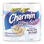 Charmin - Charmin Toilet Paper, Ultra Strong, Big Rolls, 4 rolls 0037000239987  / UPC 037000239987