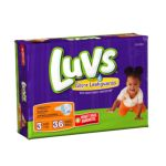 Luvs - Ultra Leakguards Diapers Size 3 28 lb, 36 diapers 0037000262244  / UPC 037000262244