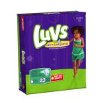 Luvs - Ultra Leakguards Diapers Size 6 35 lb 0037000262312  / UPC 037000262312