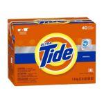 Tide - He Detergent Regular Scent Powder 0037000277903  / UPC 037000277903