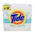 Tide - Powder Laundry Detergent Free & Gentle 80 Loads 0037000278009  / UPC 037000278009