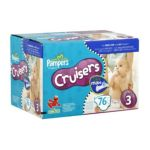 Pampers - Cruisers Diapers Size 3 16 Sesame Street 28 lb 0037000278580  / UPC 037000278580
