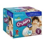 Pampers - Cruisers Diapers Size 5 27+ Lb Sesame Street 56 diapers 0037000279433  / UPC 037000279433