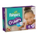 Pampers - Cruisers Diapers Jumbo Pack Size 6 20 diapers 0037000279525  / UPC 037000279525