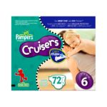 Pampers - Cruisers Diapers Sizes 3-7 72 pampers 0037000279570  / UPC 037000279570