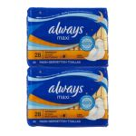 Always - Pads Maxi Flexi-wings Overnight 0037000304951  / UPC 037000304951