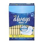 Always - Pads Maxi Flexi-wings Regular Moderate 0037000305651  / UPC 037000305651