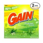 Gain - Powder Detergent Original Fresh Scent Case Pack 120-load Boxes 0037000309475  / UPC 037000309475