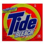 Tide - Tide Dry Laundry Detergent With Bleach Box 15 Carton Pgt32370 0037000323709  / UPC 037000323709