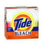 Tide - Powder Detergent With Bleach Original Scent Case Pack 95-load Boxes 0037000323778  / UPC 037000323778