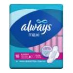 Always - Thin Maxi Pads 18 pads 0037000331162  / UPC 037000331162