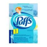 Puffs - Facial Tissue 2-ply White Non-lotion 0037000335665  / UPC 037000335665