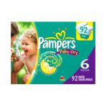 Pampers - Baby Dry Diapers Packaging May Vary 6 92 35 lb 0037000347996  / UPC 037000347996