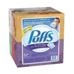 Puffs - Ultra Soft & Strong Facial Tissues 6 Boxes Each 0037000352938  / UPC 037000352938