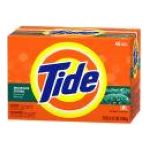 Tide - Powder Detergent Mountain Spring 0037000355267  / UPC 037000355267