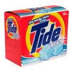 Tide - Detergent With Bleach Rapid Action Tabs 20 tabs 0037000360728  / UPC 037000360728