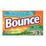 Bounce - Fabric Softener Sheets 120 sheets 0037000412694  / UPC 037000412694
