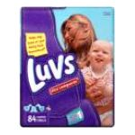 Luvs - Diapers 14 lb, 84 diapers 0037000419440  / UPC 037000419440