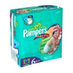 Pampers - Baby Dry Diapers Jumbo Pack Size 6 26 diapers 0037000420095  / UPC 037000420095