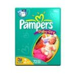 Pampers - Baby-dry Diapers Size 2 18 lb, 72 diapers 0037000420217  / UPC 037000420217
