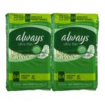 Always - Ultra Thin Long+super With Flexi-wings 0037000424789  / UPC 037000424789