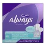 Always -  Dri-weave Pantiliners 100 pads 0037000452768