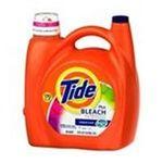 Tide - Tide HE plus Bleach Liquid Laundry Detergent, Original -  - 88 Loads 0037000474968  / UPC 037000474968