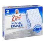 Mr. Clean - Mr. Magic Eraser Kitchen Scrubber 12 pack 0037000475460  / UPC 037000475460