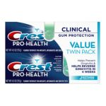 Crest - Pro-health Clinical Gum Protection Soothing Toothpaste Value Pack Soothing Smooth Mint 0037000488156  / UPC 037000488156