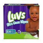 Luvs - Ultra Clean Wipes 3x Refills 0037000504474  / UPC 037000504474