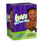 Luvs - Ultra Clean Wipes Tub + 8 Refills 0037000504504  / UPC 037000504504