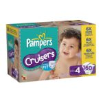 Pampers - Cruisers Diapers Xl Case Choose Your Size 37 lb 0037000507031  / UPC 037000507031