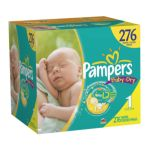 Pampers - Baby Dry Diapers Xl Case Choose Your Size 0037000512523  / UPC 037000512523