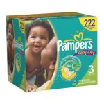 Pampers - Baby Dry Diapers Xl Case Choose Your Size 28 lb 0037000512608  / UPC 037000512608