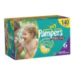 Pampers - Baby Dry Diapers Xl Case Choose Your Size 0037000512745  / UPC 037000512745