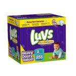 Luvs - Premium Stretch Diapers With Ultra Leakguards 2 258 0037000525936  / UPC 037000525936