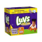 Luvs - Premium Stretch Diapers With Ultra Leakguards 3 234 28 lb 0037000525950  / UPC 037000525950