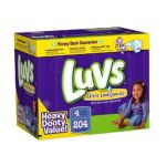 Luvs - Premium Stretch Diapers With Ultra Leakguards 4 204 0037000525981  / UPC 037000525981