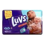 Luvs - Diapers 14 lb, 40 diapers 0037000646655  / UPC 037000646655